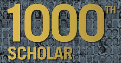 Year of the 1000th Scholar