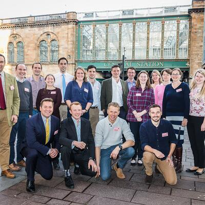 2019 Nuffield Farming Scholars at the 2018 Nuffield Farming Conference