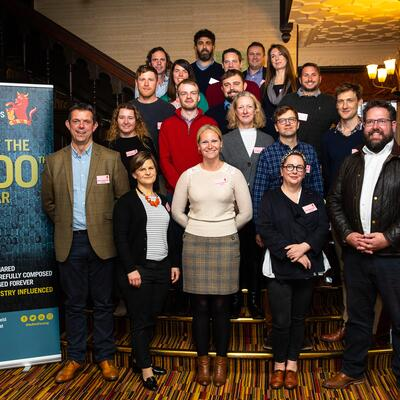 2020 Scholar Group at the 2019 Nuffield Farming Conference
